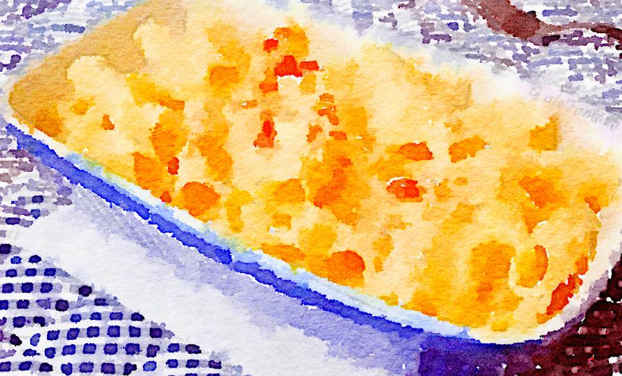 Maccheroncini gratinati al gorgonzola