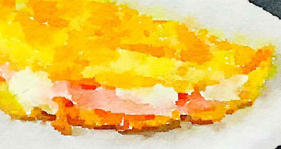 Omelette valdostana
