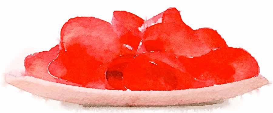Bresaola in salsa piccante