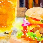 hamburger e birra, abbinamenti