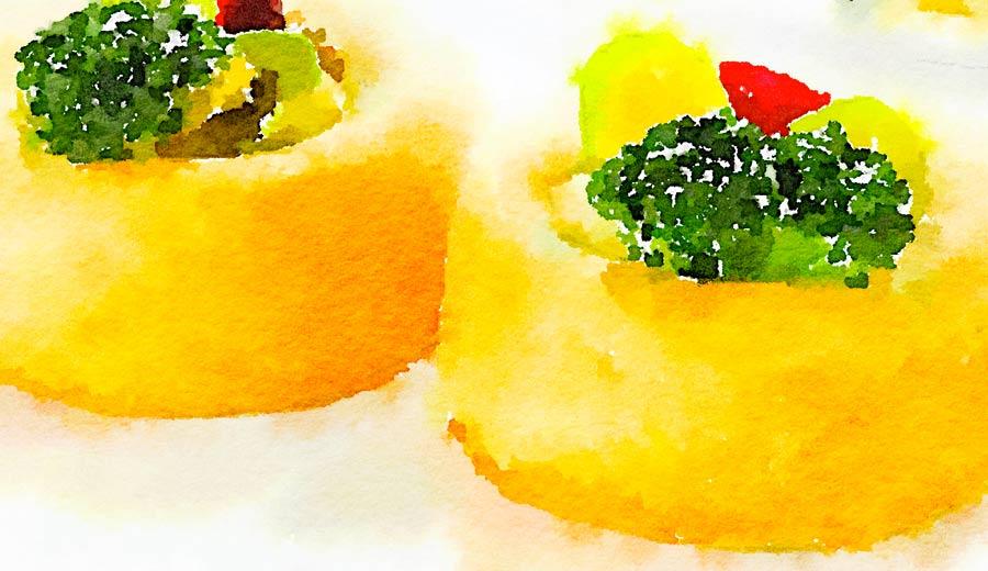 Sformatino di verdure al curry