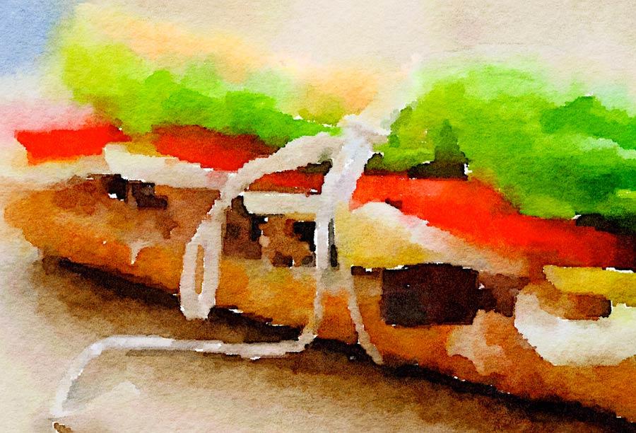 Baguette niçoise