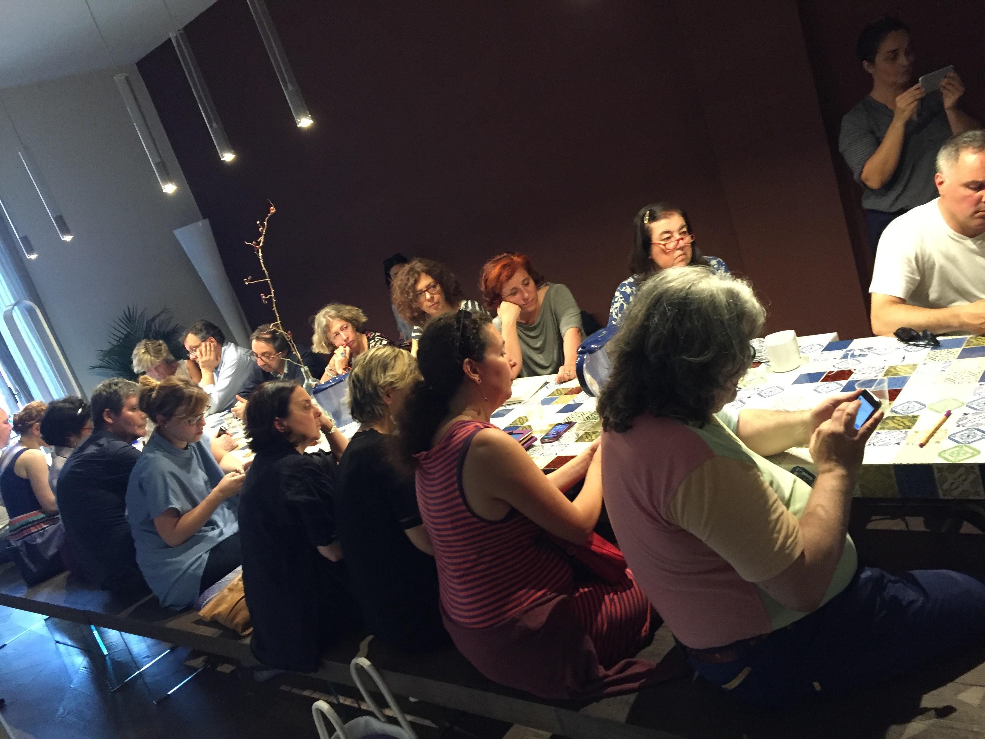 Tavola Spigolosa 23 giugno –VIDEO & CIBO