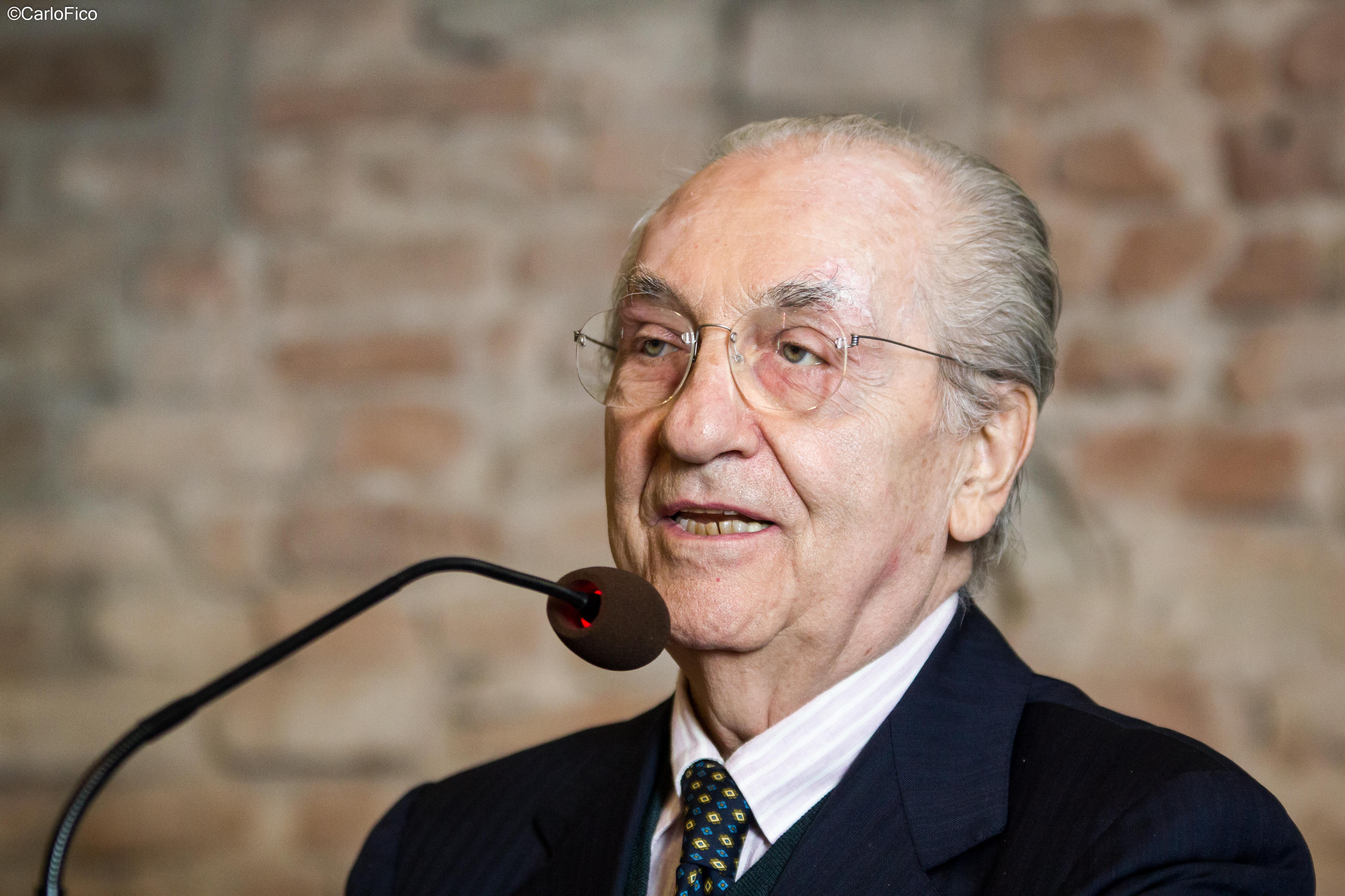 Gualtiero Marchesi. Credits Carlo Fico