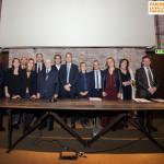 La conferenza stampa di presentazione del progetto 'Cucina la salute con gusto' a Mantova. Foto di Carlo Fico
