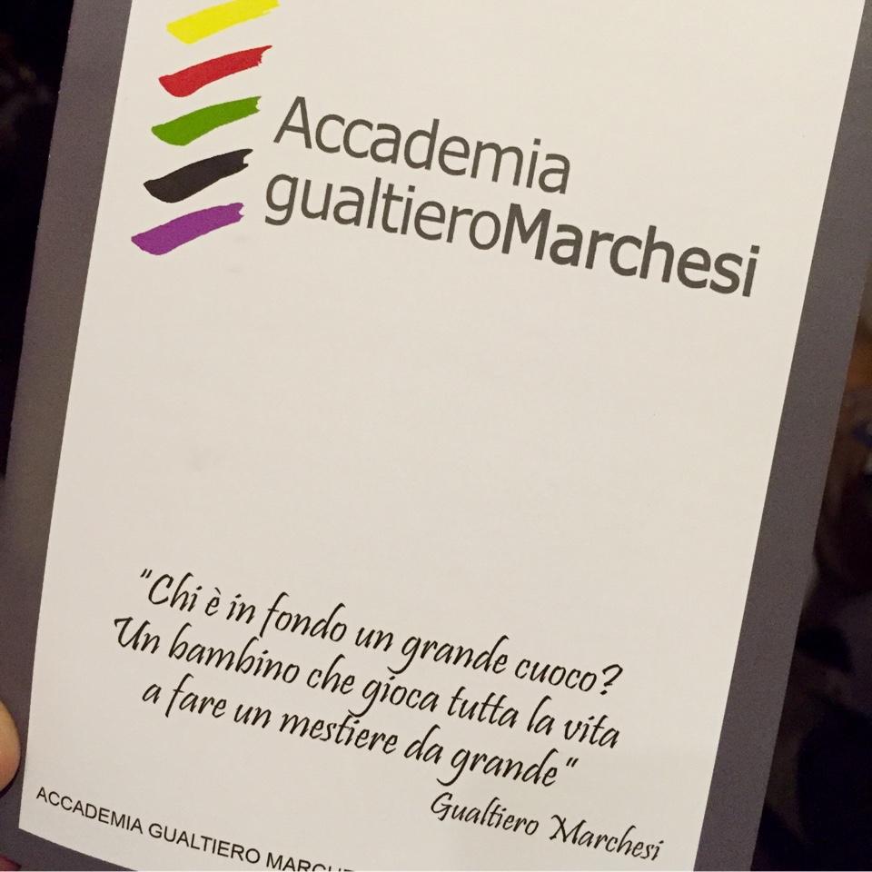 Accademia Gualtiero Marchesi, open day 2017