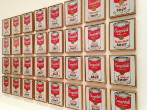 Andy_Warhol-_Campbell's_Soup_Cans_(1962)_(8477712014)