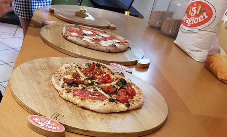 Pizza e farina protagoniste ai Molini Agugiaro