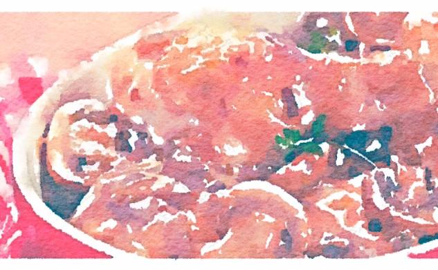 Pollo ai funghi