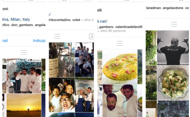 Instagram degli chef: entrare in cucina con il social network delle immagini