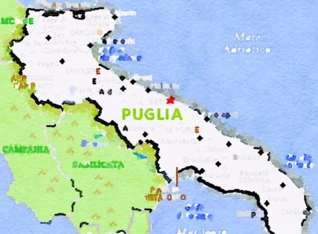 Omaggio alla Puglia e voglia di andare al mare