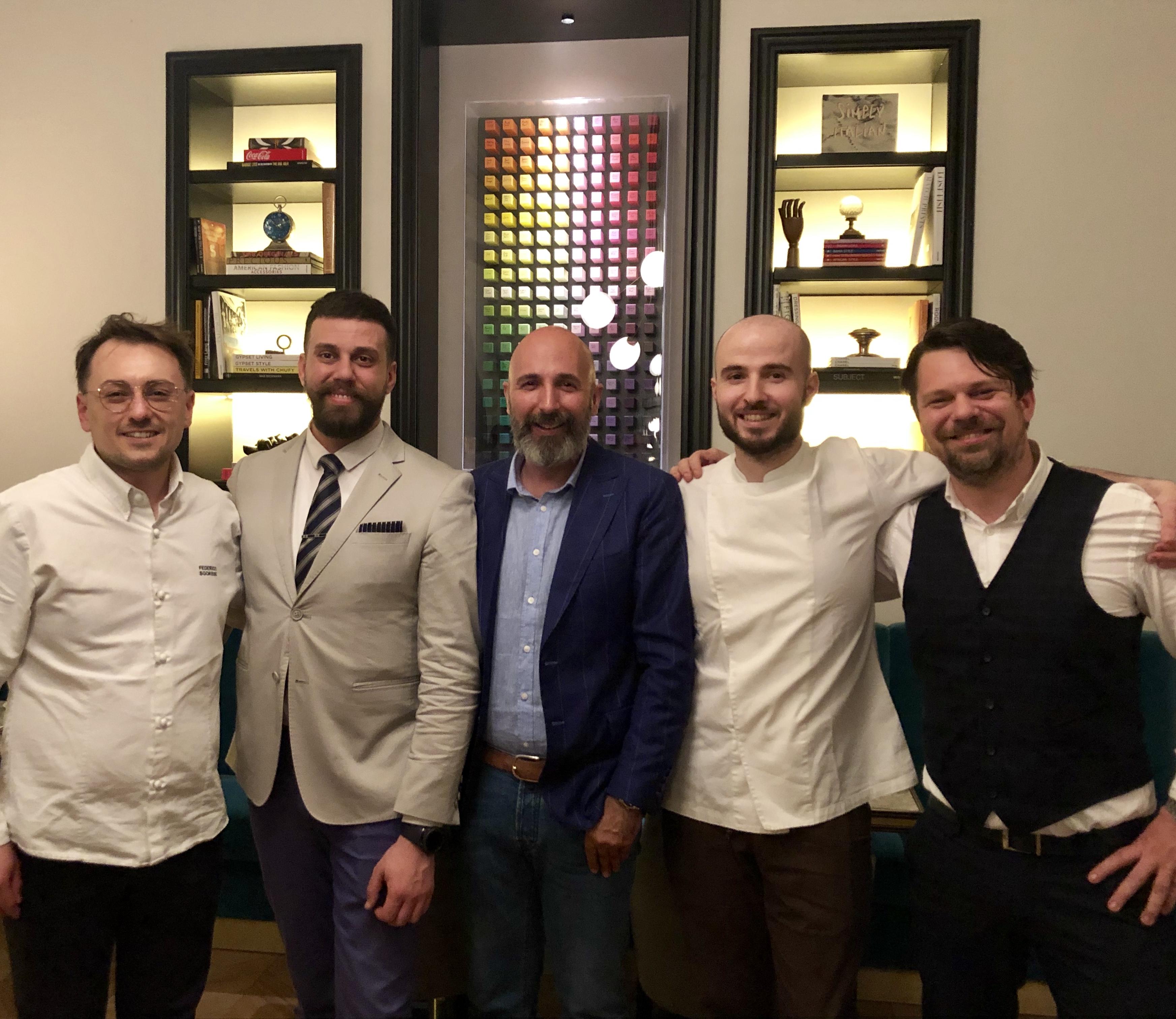 Andrea Ribaldone e il palLino della ristorazione