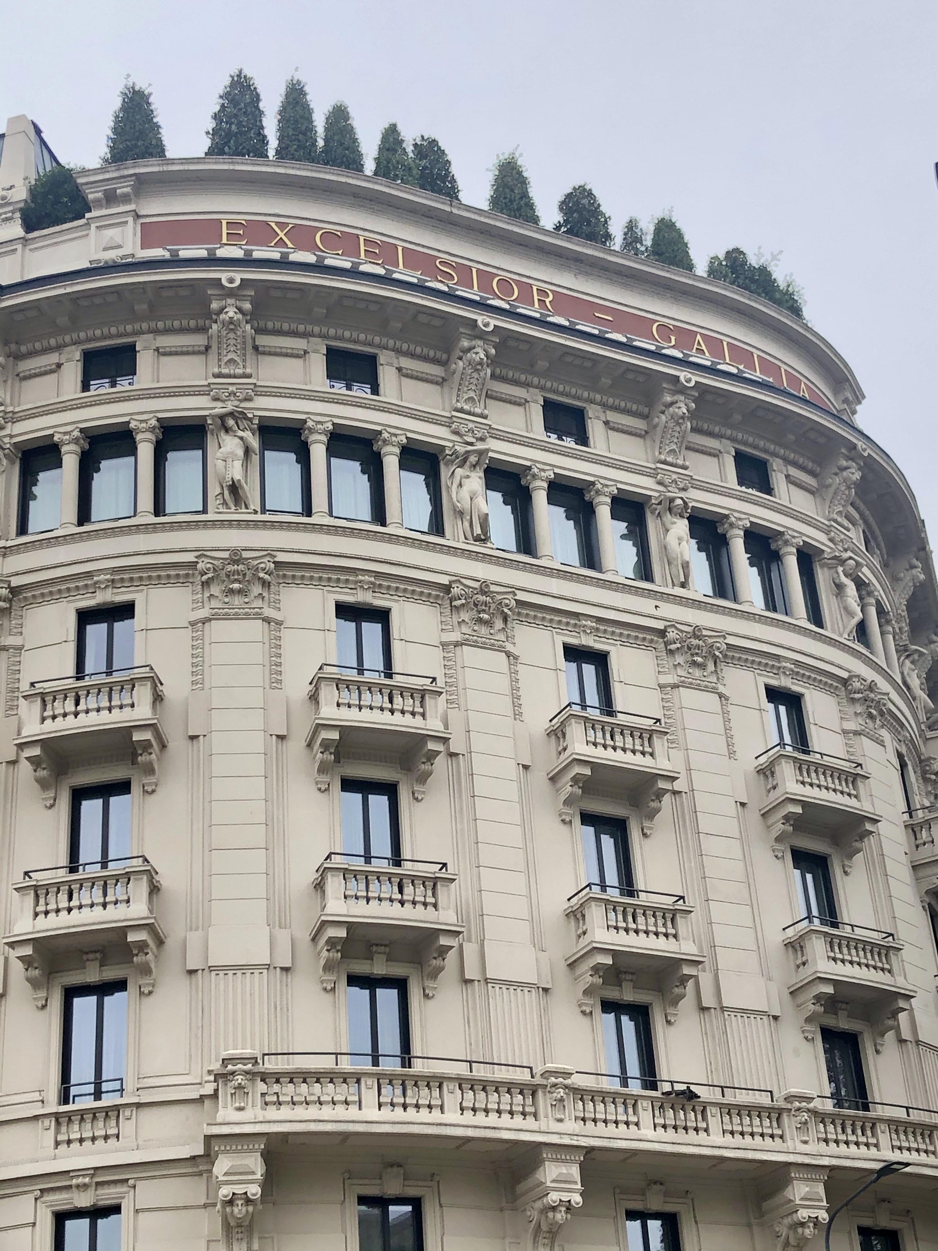 Terrazza Gallia: al settimo piano dell'hotel di Milano si celebra l'italianità intera a tavola